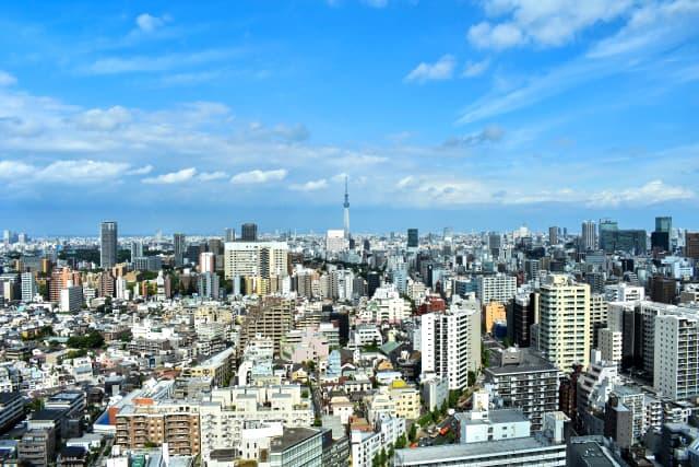スカイツリーが見える東京23区のイメージ